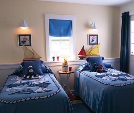 морская спальня для мальчиков