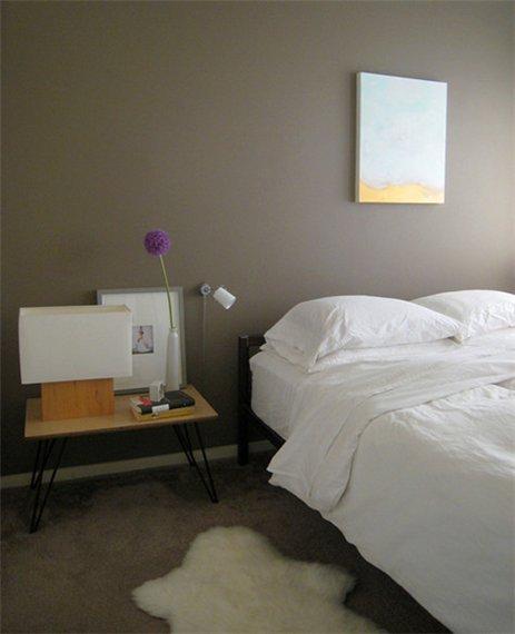 Минимализм с спальне