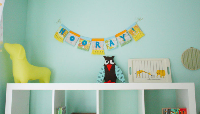 бирюзовая детская комната фото