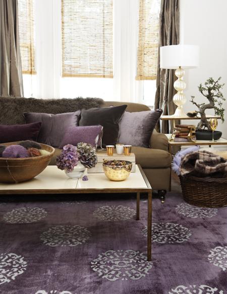 пурпурная гостиная