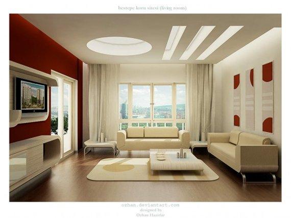 цвет гостиной комнаты