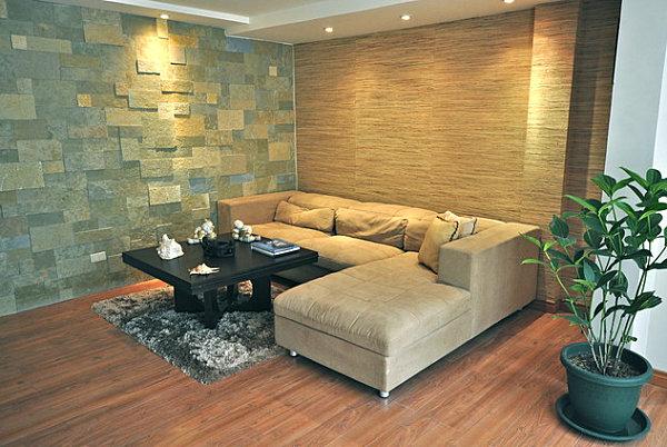 стены небольшой гостиной