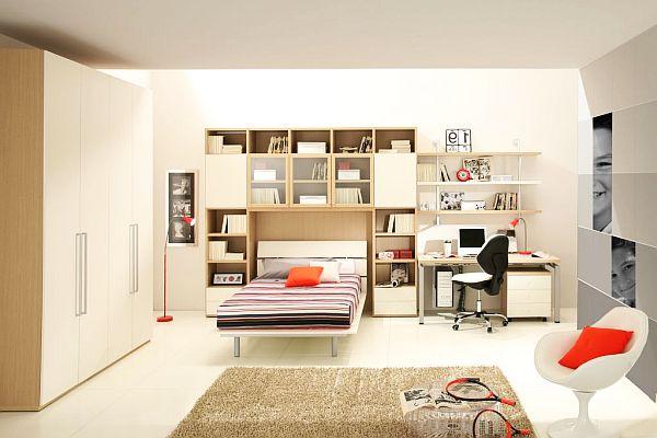 Невероятно стильный дизайн комнаты для мальчика