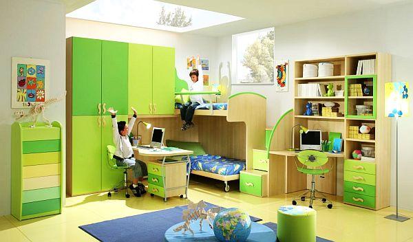 Дизайн комнаты для мальчиков в итальянском стиле