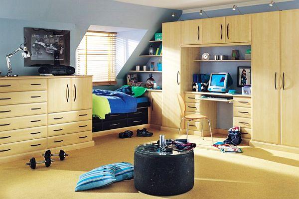 Элегантная мальчишеская комната