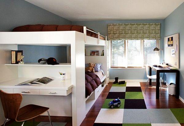 дизайн детской комнаты для мальчиков близнецов