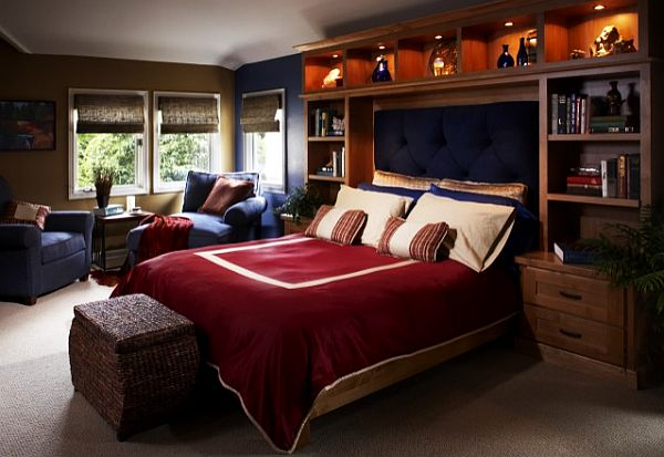 Современная комната для мальчика подростка