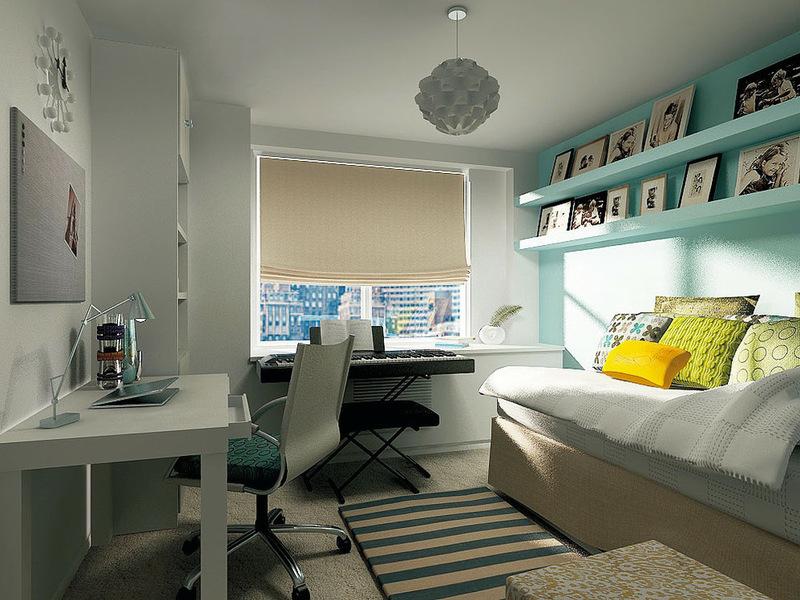 дизайн функциональной комнаты для подростка девочки