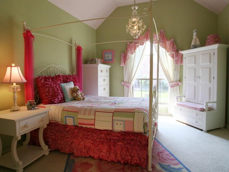 дизайн комнаты подростка девочки