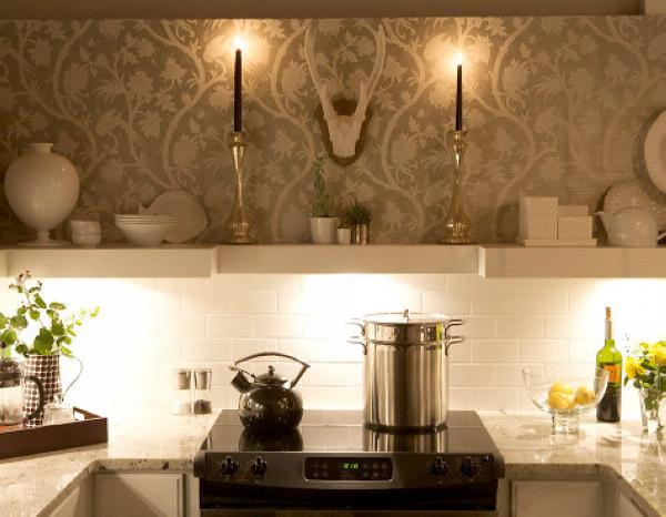 Интерьер гостиной совмещенной с кухней фото 1