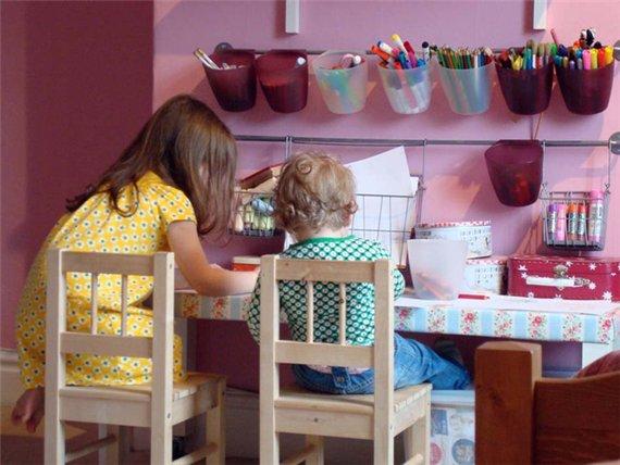 Интерьер детской комнаты для двух детей фото 2