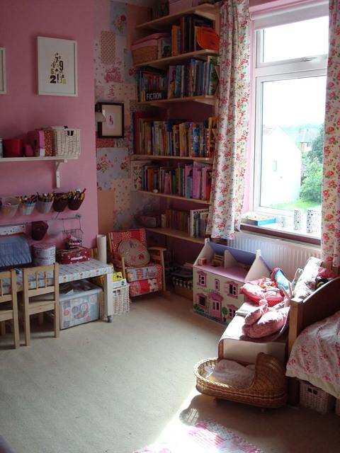 Интерьер детской комнаты для двух детей фото 1