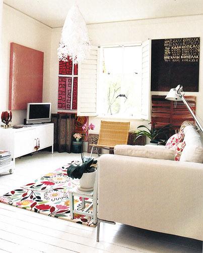 Дизайн стен гостиной фото 1