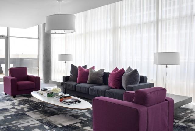 простор и стиль гостиной