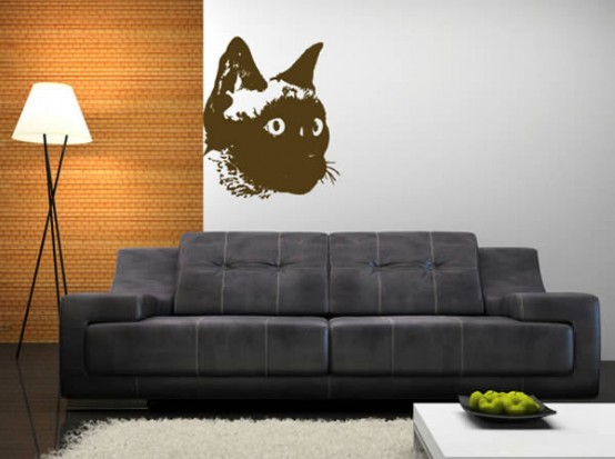 cool ideas for cat themed room design 17 554x413 ��������� � ���������