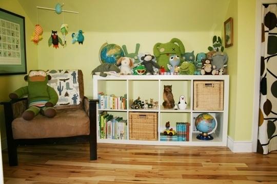 насыщенная детская комната