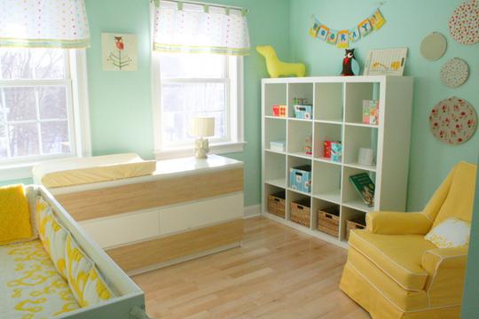 нежная детская комната