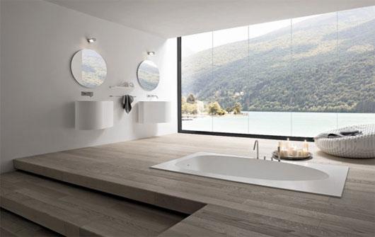 Оригинальная ванная комната
