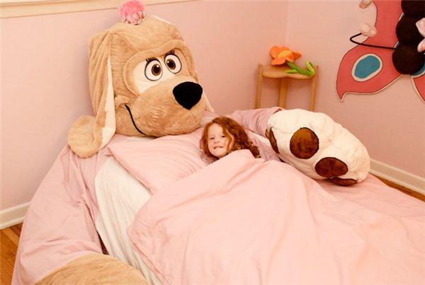 кровати в виде игрушек