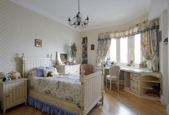 Натуральная детская комната