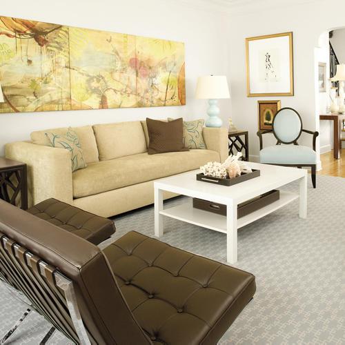 Как сочетать в интерьере мебель