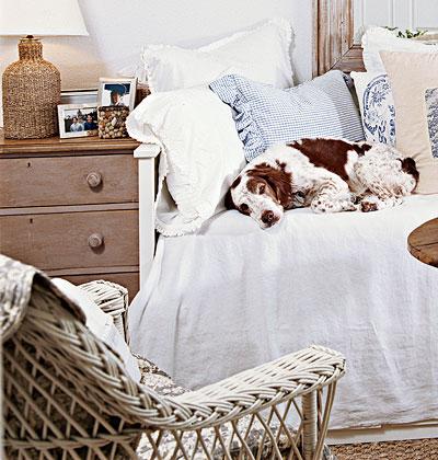 Милая и уютная спальня фото 2