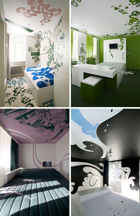 Оформление спальных комнат фото 2