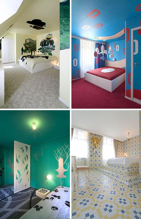 Оформление спальных комнат фото 3