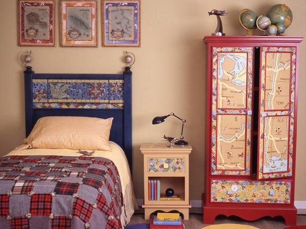 декор и оформление детской комнаты