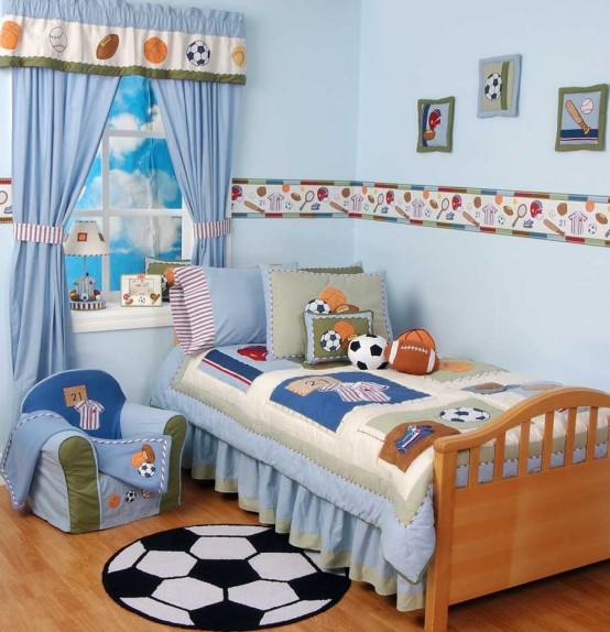 оформление детской комнаты фото 12