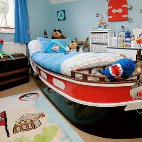 Дизайн детской комнаты – фото 85