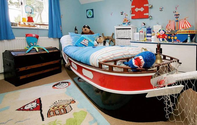 оформление детской комнаты фото 7