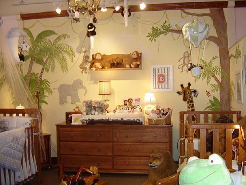 оформление детской комнаты фото 6
