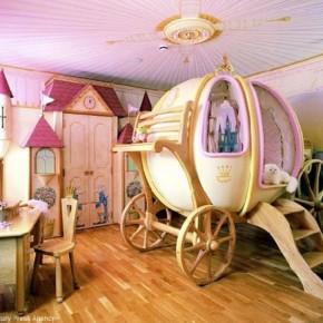 Дизайн детской комнаты – фото 86
