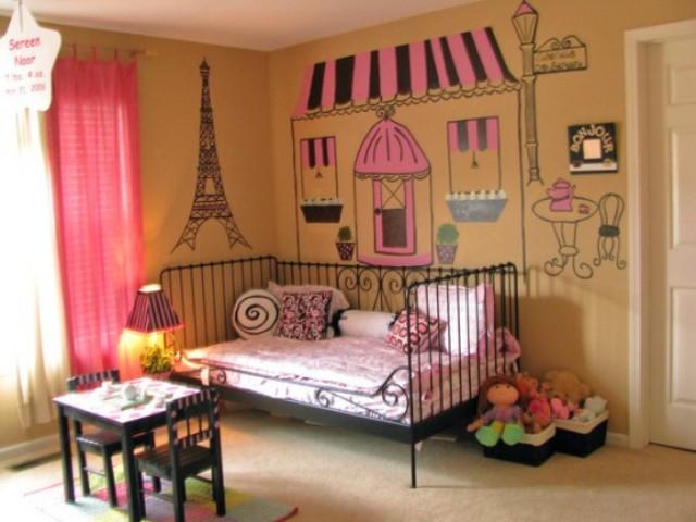 оформление детской комнаты фото 2