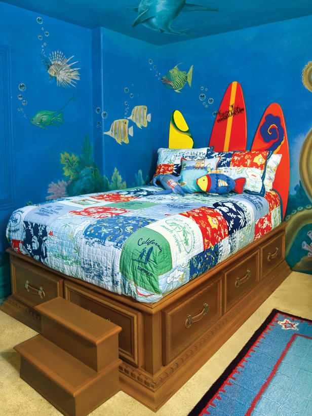оформление детской комнаты фото 15