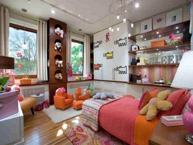 оформление детской комнаты фото 14