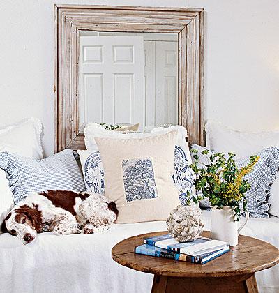 Милая и уютная спальня фото 1