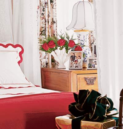 Яркая спальня для холодов фото 2