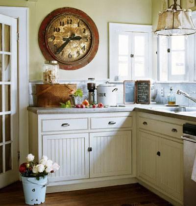Кухня в дачном стиле