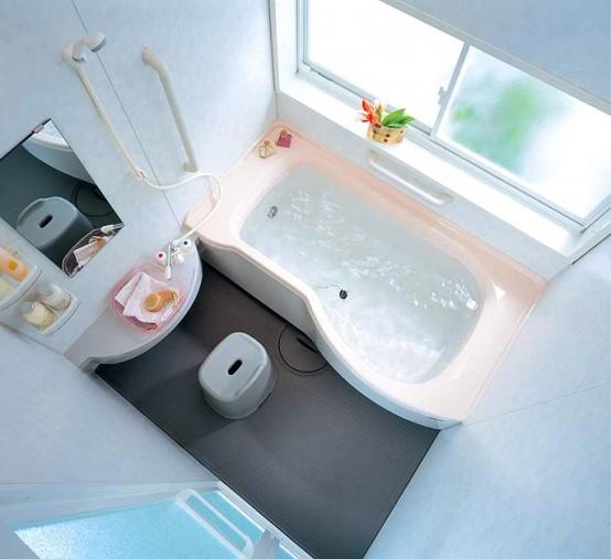 ванная комната маленькая с гидробоксом дизайн фото