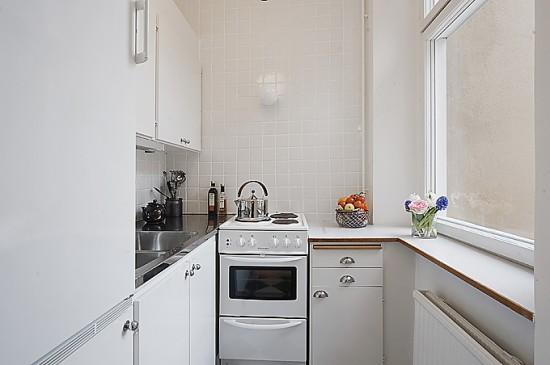 функциональный дизайн маленькой кухни