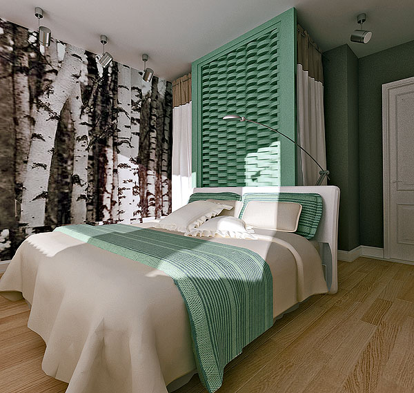 Спальня в квартире серии И 79-99