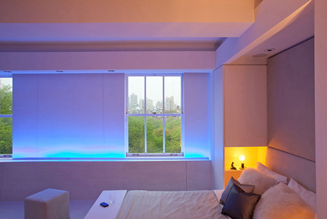 Красивое освещение комнаты своими руками 100