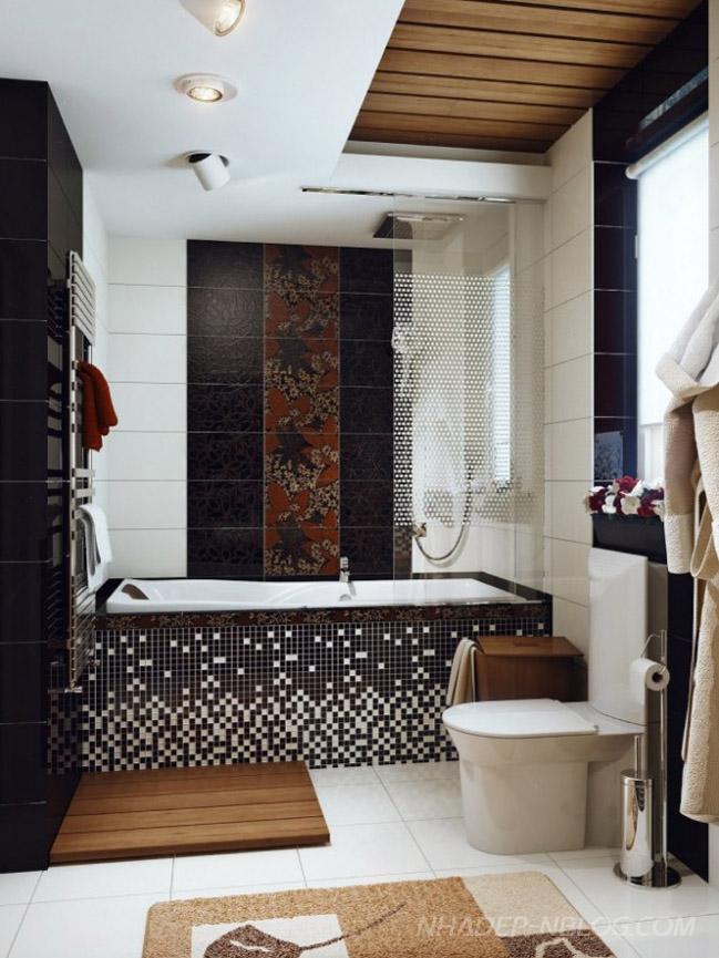 элегантная и роскошная ванная