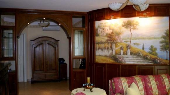 Фото гостиной с фресками