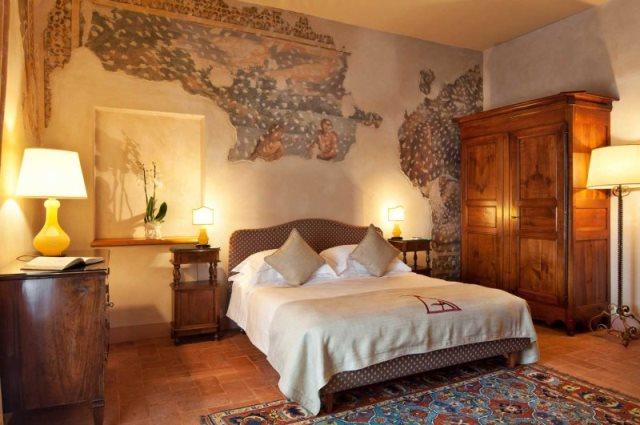 Фрески для дома - фото спальни