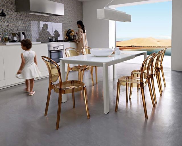 Кухня столовая - дизайн в светлых тонах