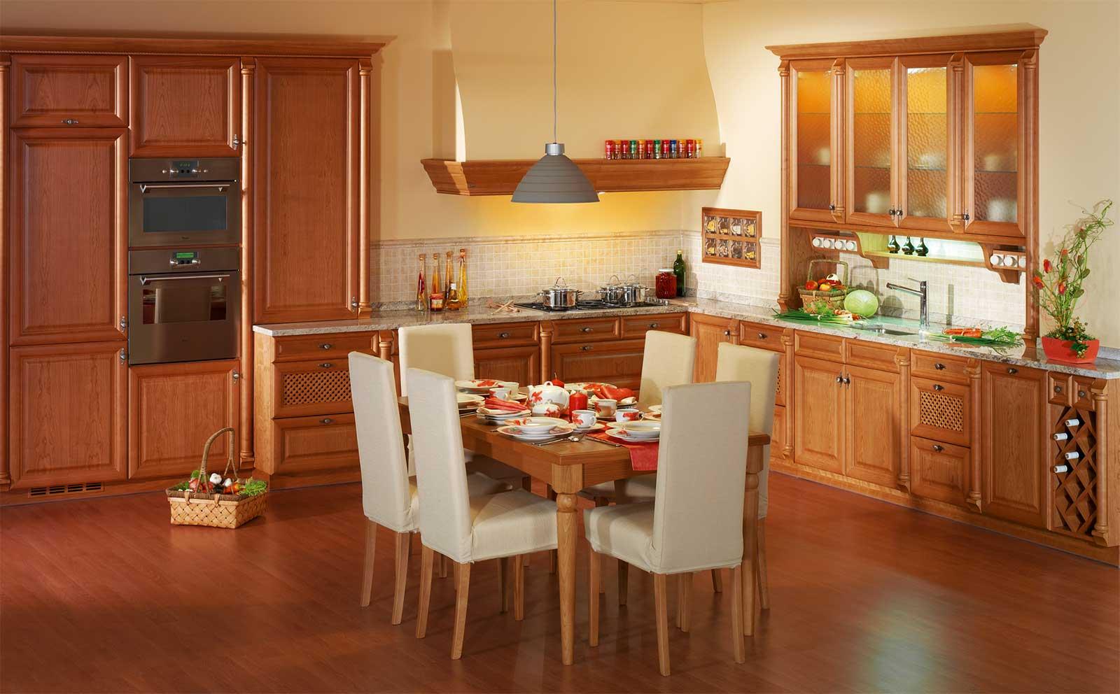 Обеденная зона в кухне интерьерные штучки.