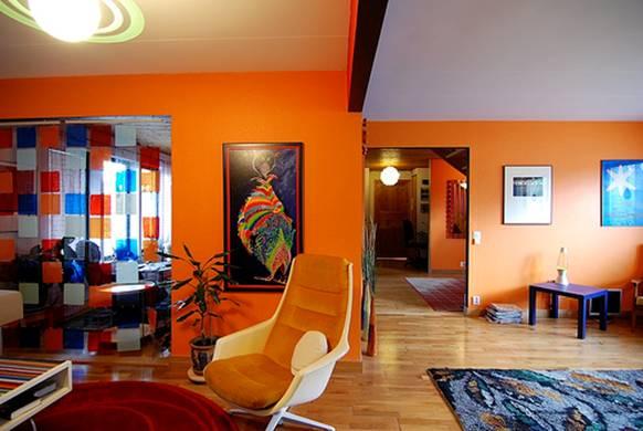 Эклектика в интерьере гостиной фото 6
